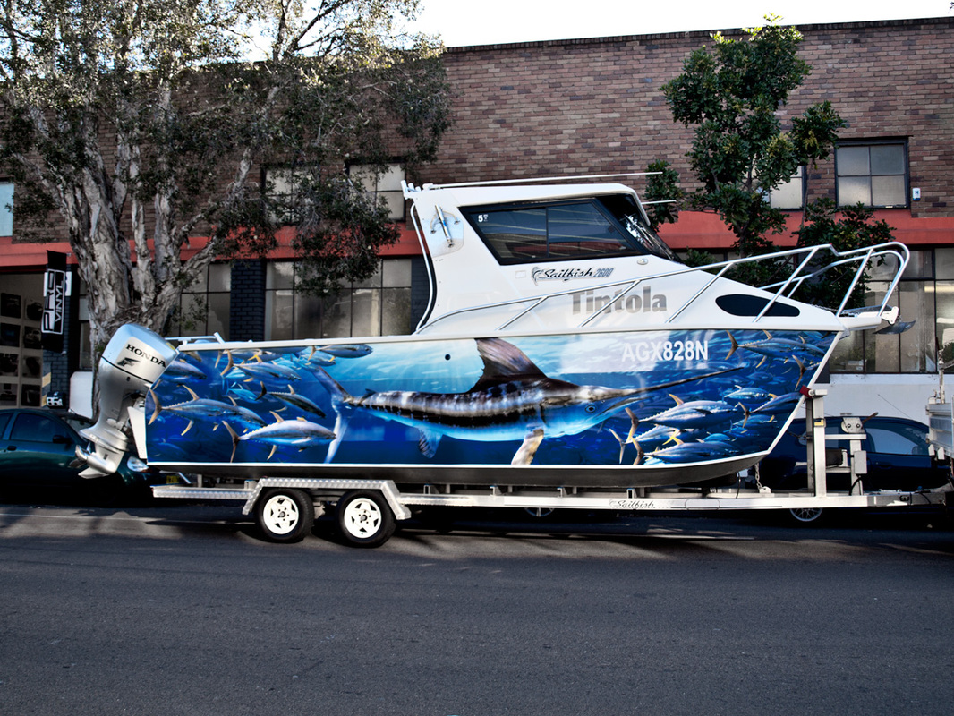 Boat Wraps In Sydney Custom Graphics - Decals for boats australia