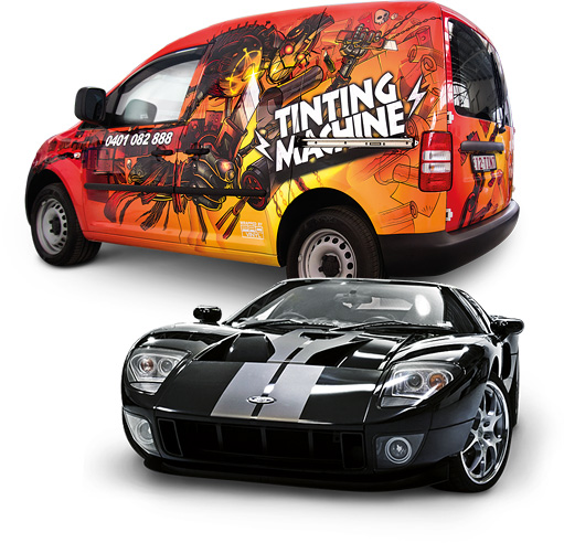 Custom Graphics – Car graphics, signage, wraps