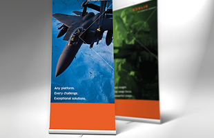 Custom Graphics – Retractable banners